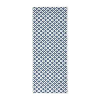 Covor reversibil Bougari Nizza, 80 x 350 cm, albastru deschis de la Bougari