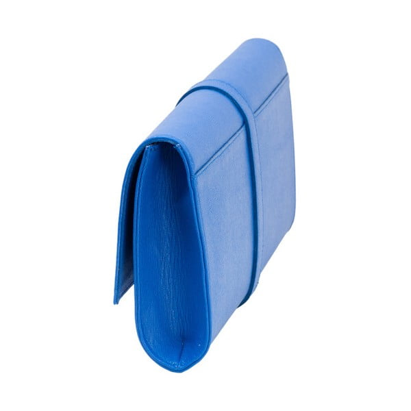 Modrá kožená kabelka Andrea Cardone 1010
