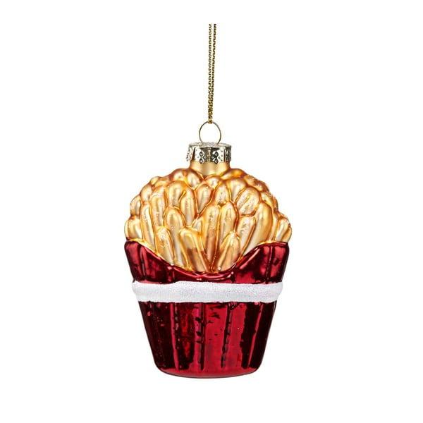 Decorațiune de Crăciun din sticlă Butlers French Fries