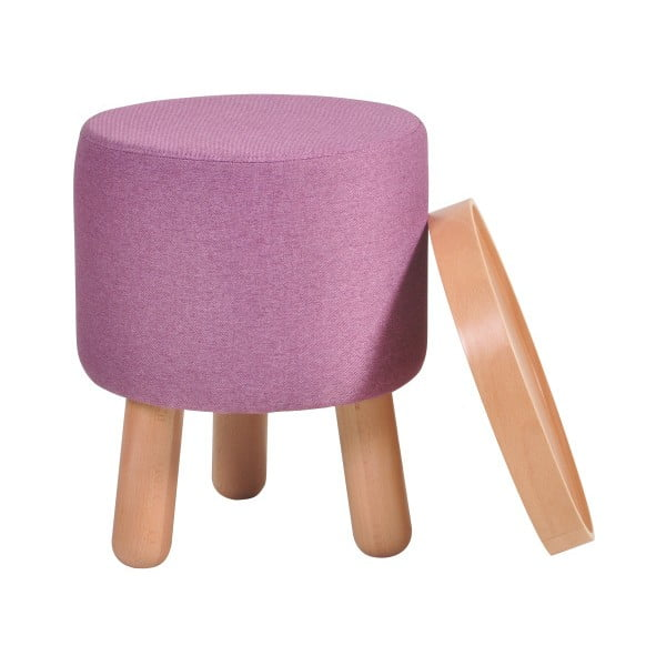 Fialová stolička Garageeight Molde s odnímatelným vrškem, velikost S
