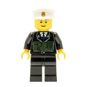 Hodiny s budíkem LEGO® City Policeman