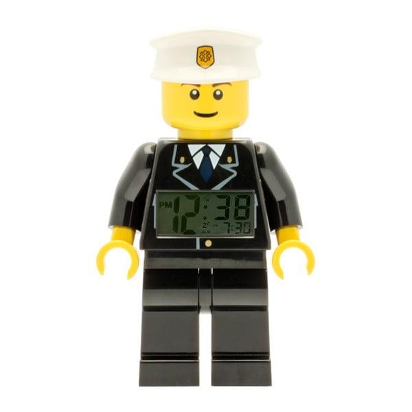 Hodiny s budíkom LEGO® City Policeman