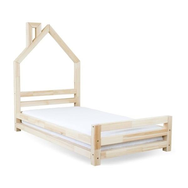 Dětská postel z přírodního smrkového dřeva Benlemi Wally,90x180cm