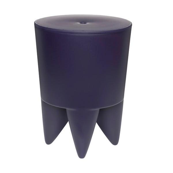Univerzální stolek/koš/chladič na led Bubu, tmavě modrý