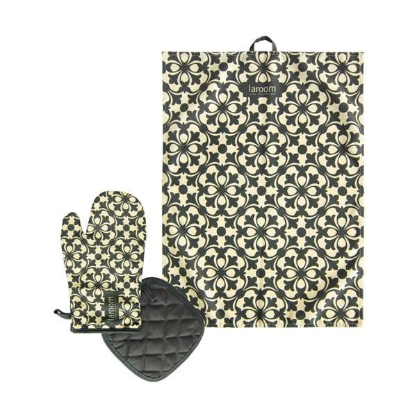 Set utěrky, chňapky a podložky pod hrnec Mosaic