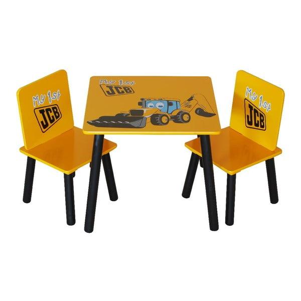 Dětský stůl a 2 židle JCB