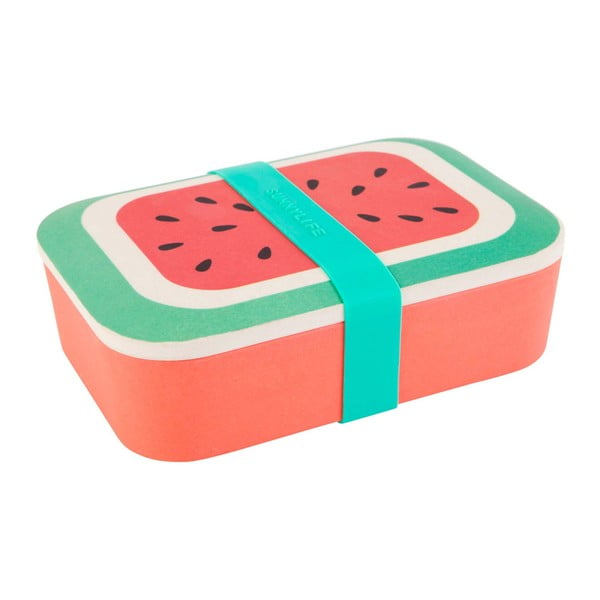 Bambusový box na svačinu Sunnylife Eco Watermelon