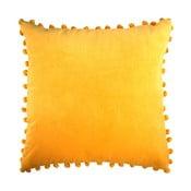 Žlutý polštář Ragged Rose Arabella Velvet