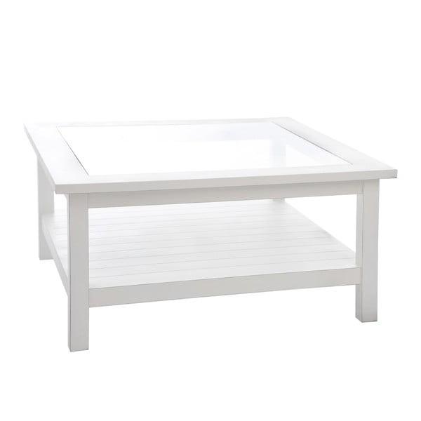 Dřevěný kávový stolek Paulownia