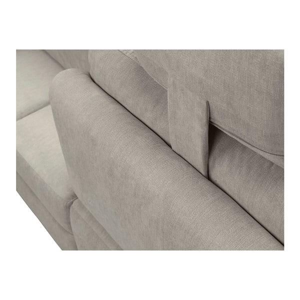 Béžová rohová rozkládací pohovka Windsor & Co Sofas, pravý roh Alpha
