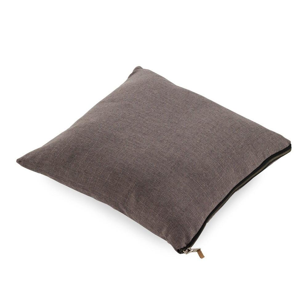 Šedý polštář Geese Soft, 45 x 45 cm
