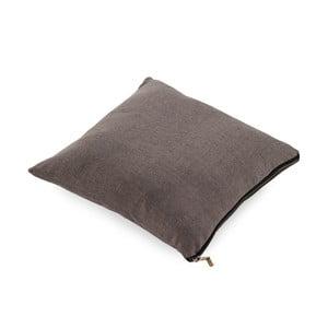 Šedý polštář Geese Soft, 45x45cm