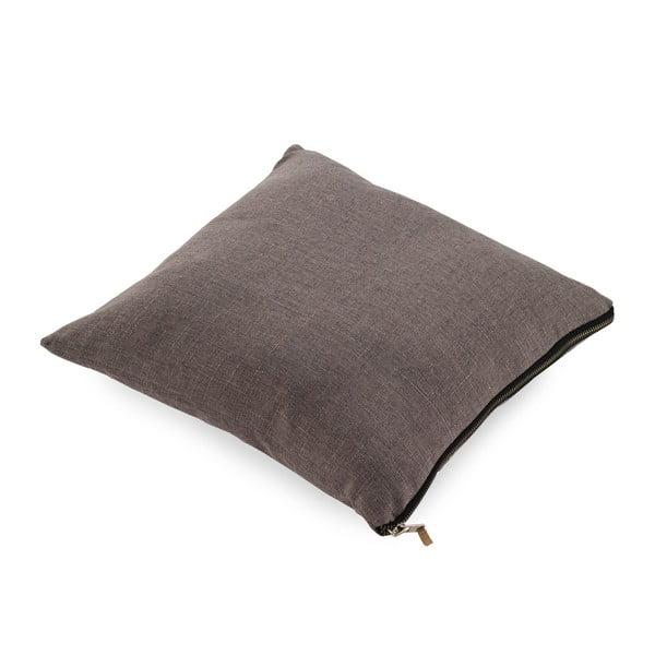 Sivý vankúš Geeso Soft, 45 × 45 cm