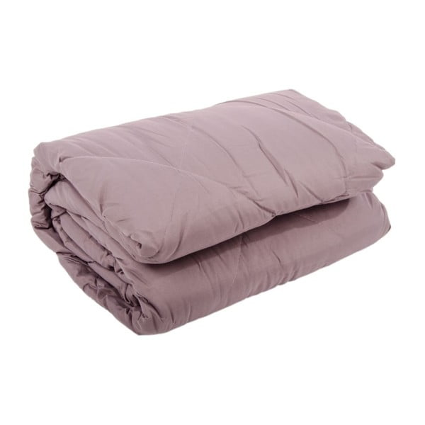 Přehoz na postel Duveta Violet Creme, 240x260 cm
