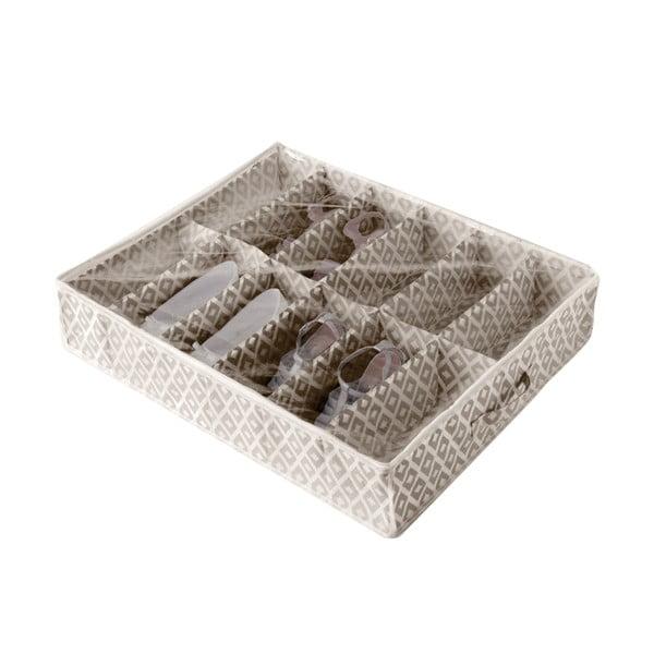 Cutie de depozitare sub pat pentru pantofi Compactor Daman Range, 76 x 60 cm
