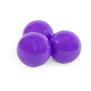 Sada 50 fialových balónků do dětského bazénku Misioo