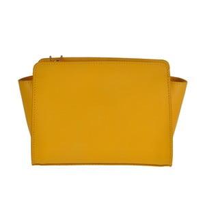 Žlutá kožená kabelka Matilde Costa Roeli