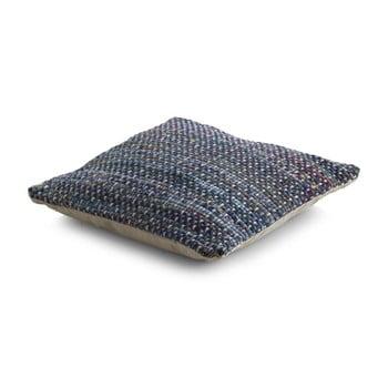 Pernă texturată cu umplutură Geese Ceylon, 45x 45 cm, albastru de la Geese