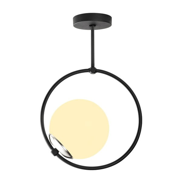 Erasto fekete fém függőlámpa - Opviq lights