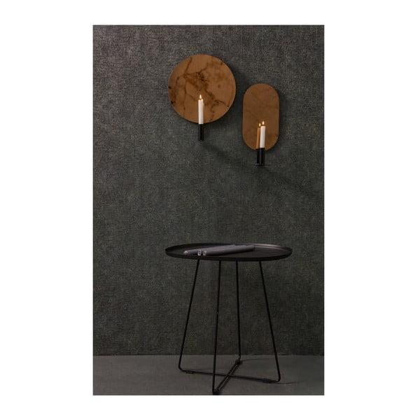 Nástěnný svícen s dekorativním zrcadlem De Eekhoorn Emily, délka37cm