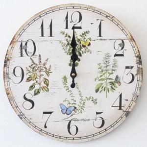 Vintage hodiny Luční kvítí