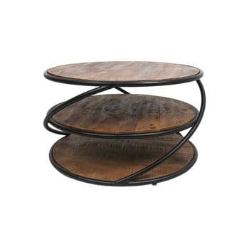 Masă de cafea din lemn de mango HSM collection Tower