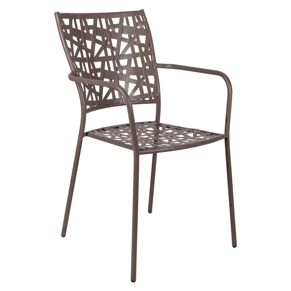 Kovová stohovatelná židle Crido Consulting Geo