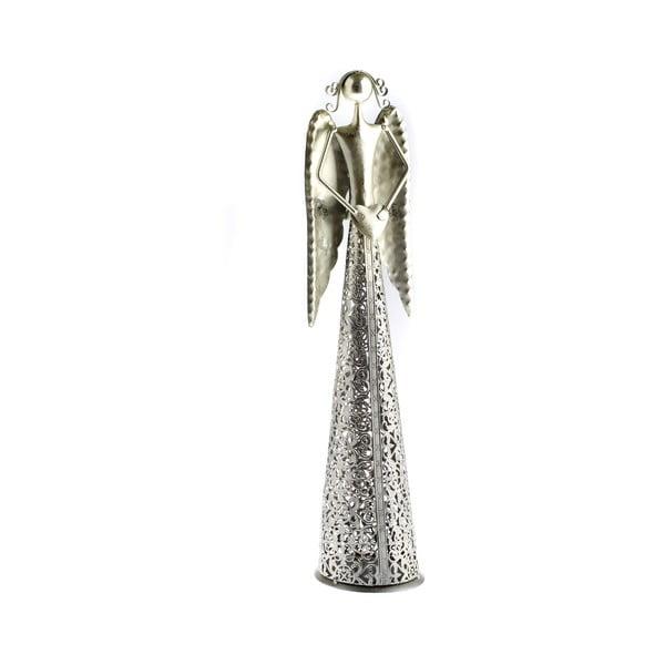 Kovová dekorácia v tvare anjela Dakls Angel, výška 49 cm