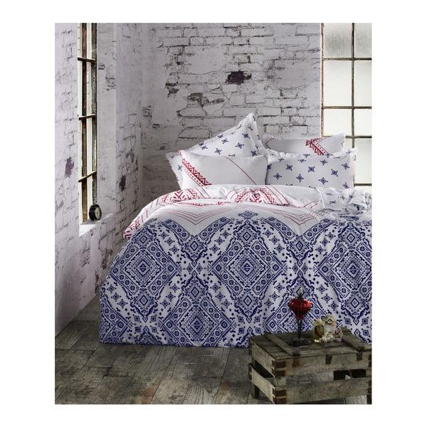 Lenjerie de pat cu cearșaf Mossi, 200 x 220 cm