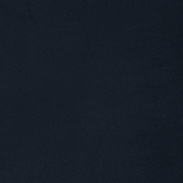 Námořnicky modrá trojmístná pohovka s nohami ve stříbrné barvě Vivonita Meyer Velvet