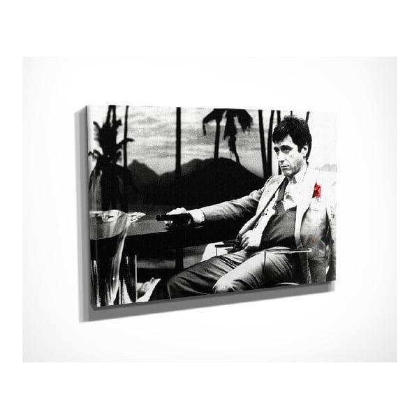 Vintage vászon fali kép, 40 x 30 cm