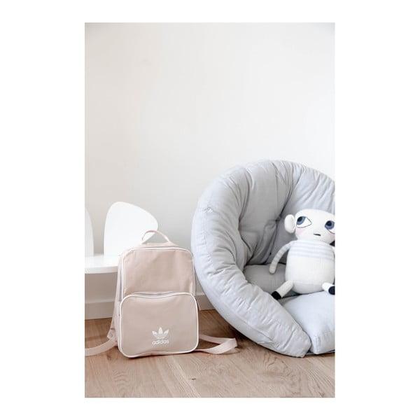 Světle růžové dětské rozkládací křesílko Karup Mini Nido