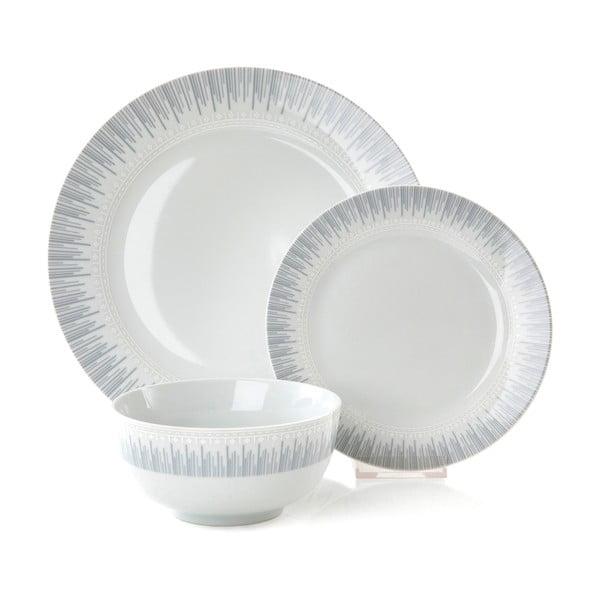 Porcelánová jídelní sada Eva, 12 ks