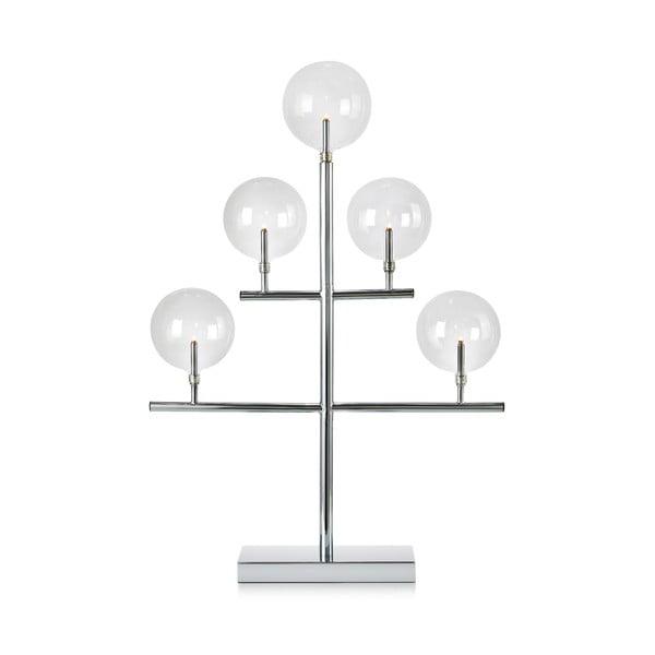 Świecznik w kolorze srebra Markslöjd Maestro, wys. 59 cm