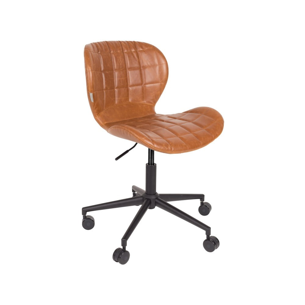 Hnědá kancelářská židle Zuiver Office Chair OMG