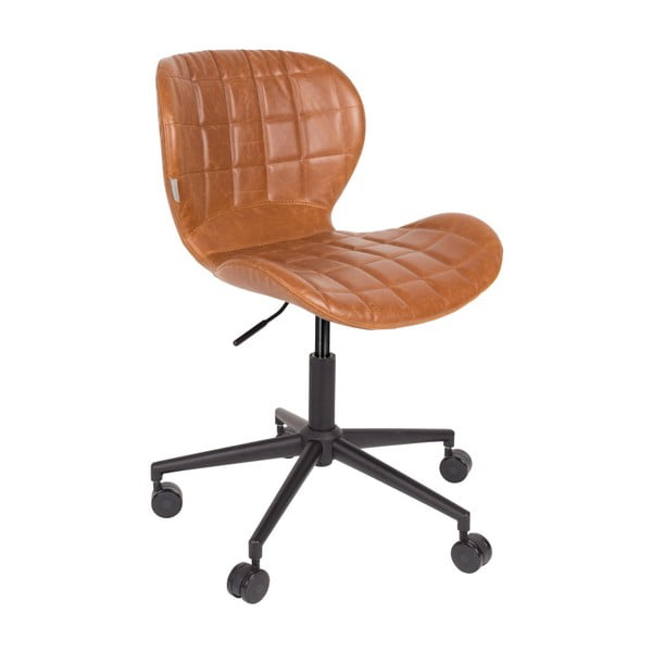 Scaun birou Zuiver Office Chair OMG, maro