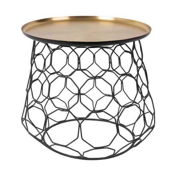 Kovový odkládací stolek Dutchbone Moulin, ⌀ 54 cm