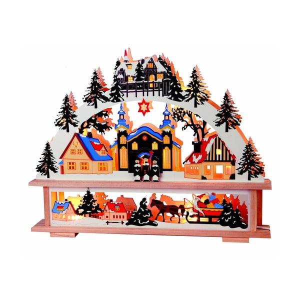 Svítící dekorace Winter Colours