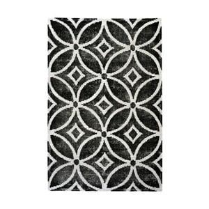 Ručně vyráběný koberec The Rug Republic Waiko Black, 240 x 300 cm