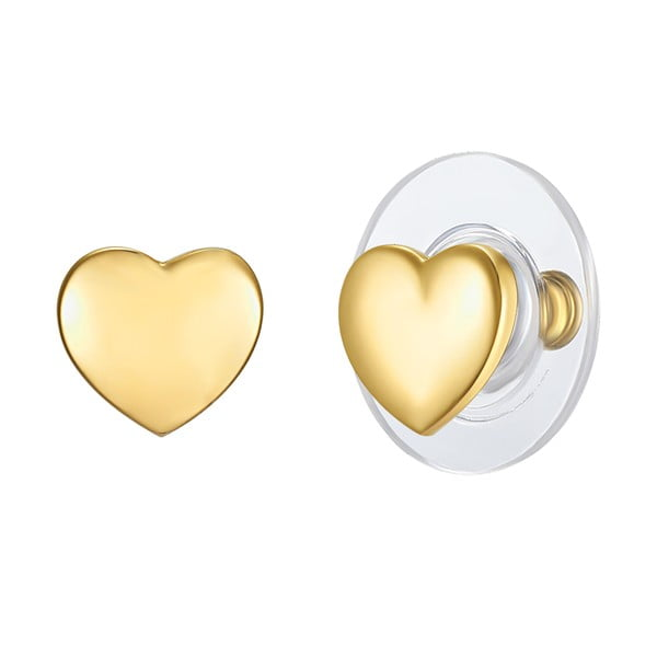 Kolczyki w kolorze złota Touch