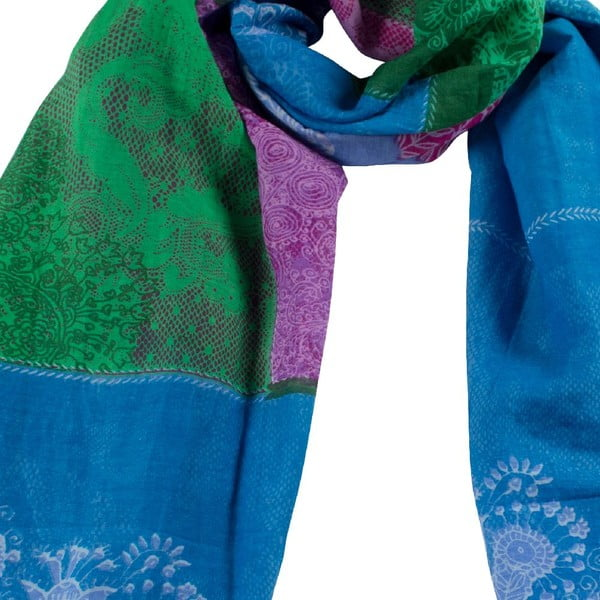Šátek Maranda Blue/Green