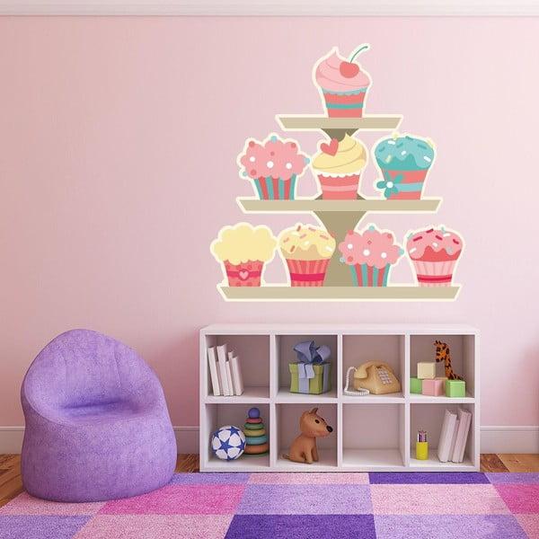 Samolepka na stěnu Cupcakes Stand