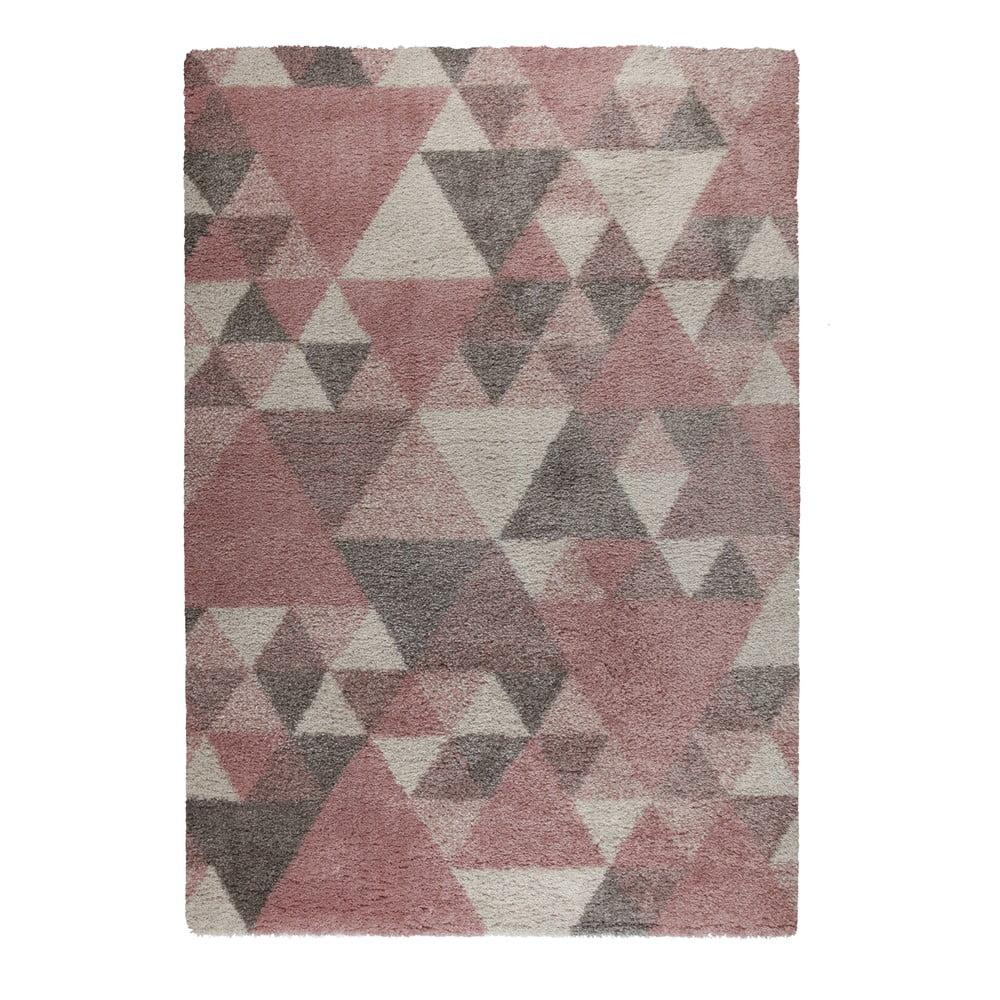 Produktové foto Růžovo-krémový koberec Flair Rugs Nuru, 160 x 230 cm