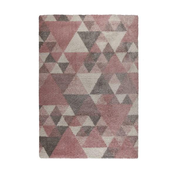 Růžovo-krémový koberec Flair Rugs Nuru, 160 x 230 cm