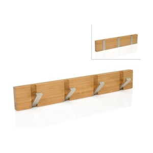 Skládací věšák Bamboo, 40,5x6x1,8 cm