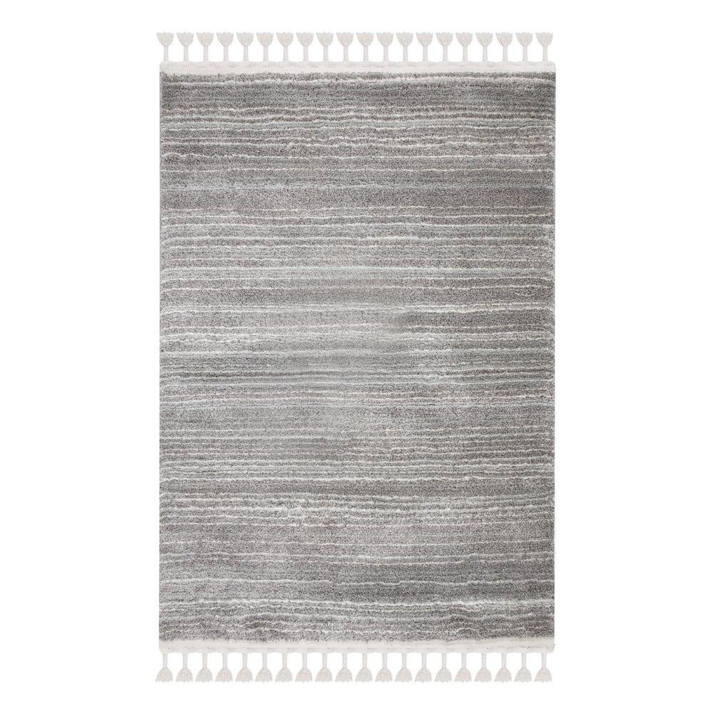 Šedokrémový koberec Flair Rugs Holland, 80 x 150 cm