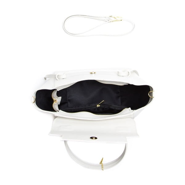 Kožená kabelka Isabella Rhea 394 Beige