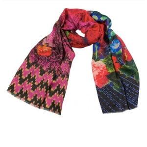 Kašmírový šátek Shirin Sehan Valeria