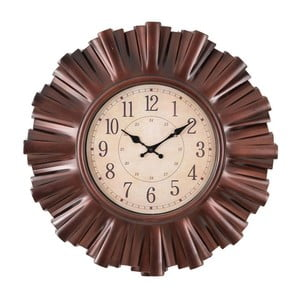 Nástěnné hodiny Clock In Brown
