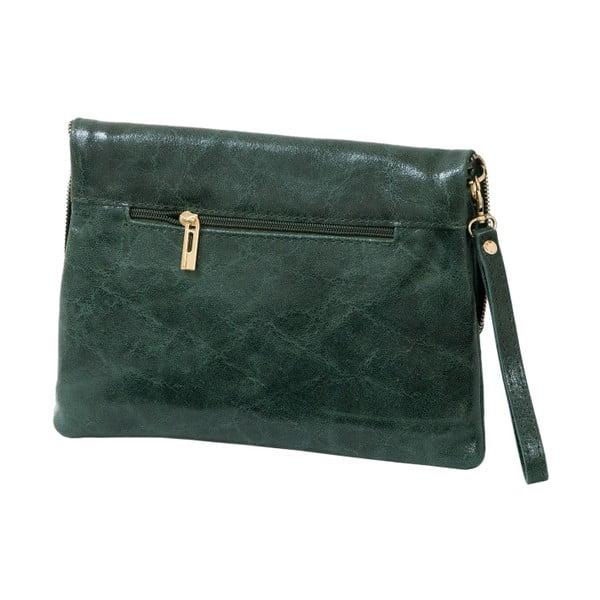 Zelená kabelka z pravé kůže Andrea Cardone Marco